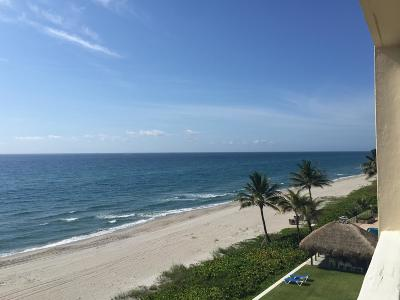 Highland Beach Condo For Sale: 2909 S Ocean Boulevard #5a3