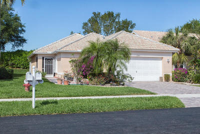 Boynton Beach Single Family Home For Sale: 12926 Hampton Lakes Circle