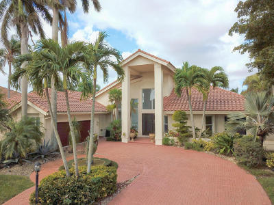 Boca Raton Single Family Home For Sale: 17208 Northway Circle