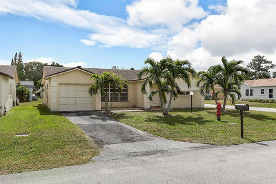 Lake Worth, Lakeworth Single Family Home For Sale: 7246 Pine Manor Drive