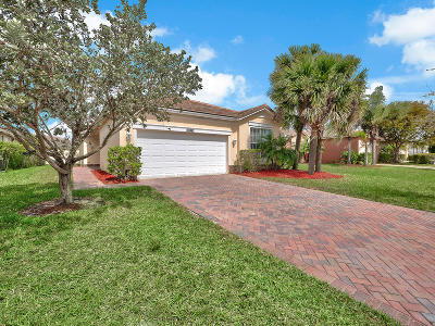Port Saint Lucie, Saint Lucie West Single Family Home For Sale: 10702 SW Gingermill Drive