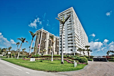 Cloister Beach Towers Condo Condo For Sale: 1200 S Ocean Boulevard #9g