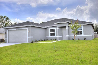 Port Saint Lucie, Saint Lucie West Single Family Home For Sale: 969 SW McDevitt Avenue