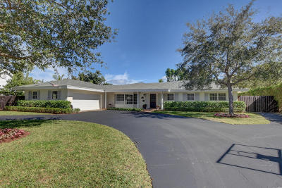 Delray Beach FL Single Family Home For Sale: $975,000