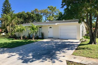 Delray Beach FL Single Family Home For Sale: $274,900