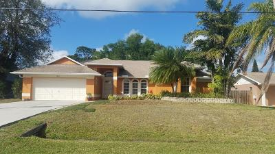 Port Saint Lucie, Saint Lucie West Single Family Home For Sale: 941 SE Bayfront Avenue