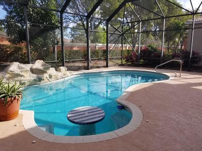 Wellington Single Family Home For Sale: 9949 Via Elegante