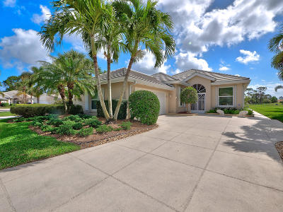 Port Saint Lucie, Saint Lucie West Single Family Home For Sale: 543 SW Hampton Court