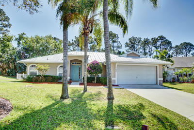 Palm City Single Family Home For Sale: 1197 SW Bay Hollow Court