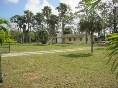 Pompano Beach Single Family Home For Sale: 5300 NW 76th Place