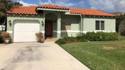 West Palm Beach Single Family Home For Sale: 235 Bloomfield Drive