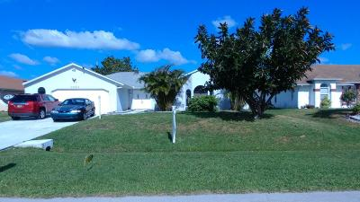 Port Saint Lucie, Saint Lucie West Single Family Home For Sale: 3423 SE Hart Circle SE