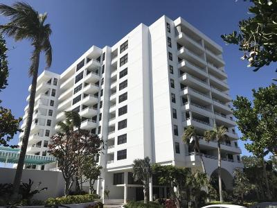 Highland Beach Condo For Sale: 3450 S Ocean Boulevard #404