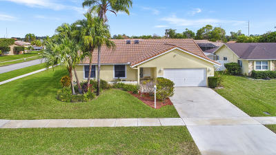 Boca Raton Single Family Home For Sale: 21910 Pine Trace