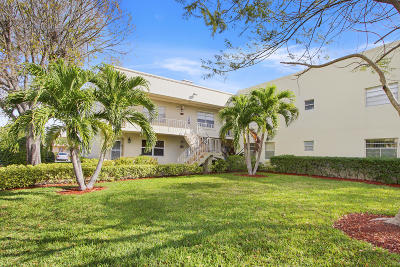 Delray Beach Condo For Sale: 887 Flanders S