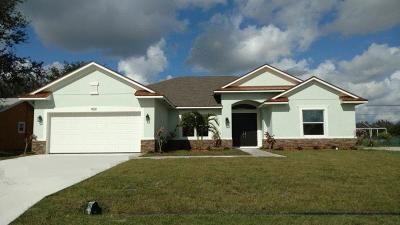 Port Saint Lucie, Saint Lucie West Single Family Home For Sale: 909 SW Kappa Avenue