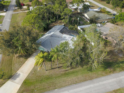 Port Saint Lucie, Saint Lucie West Single Family Home For Sale: 1693 SE Trumpet Lane