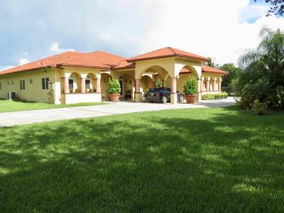 Homestead Single Family Home For Sale: 34405 SW 214th Avenue