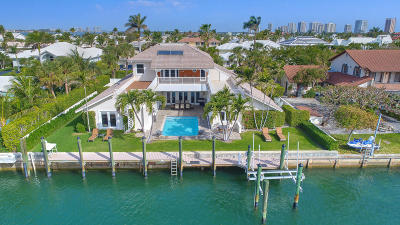 Singer Island Single Family Home For Sale: 1061 Coral Way