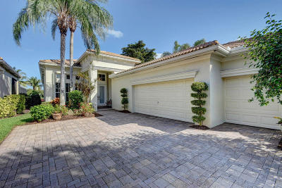 Palm Beach Gardens Single Family Home For Sale: 121 Orchid Cay Drive