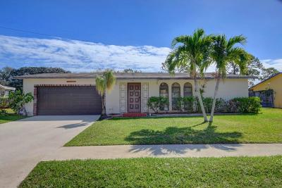 Delray Beach FL Single Family Home For Sale: $189,900