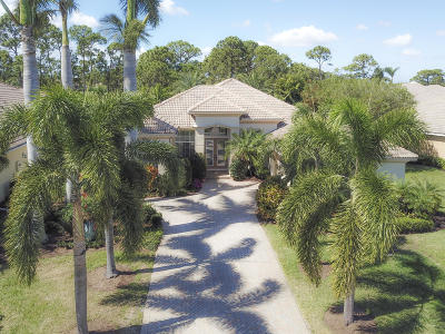 Port Saint Lucie, Saint Lucie West Single Family Home For Sale: 8111 Links Way