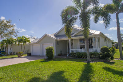 Port Saint Lucie, Saint Lucie West Single Family Home For Sale: 415 NE Deepwater Cove