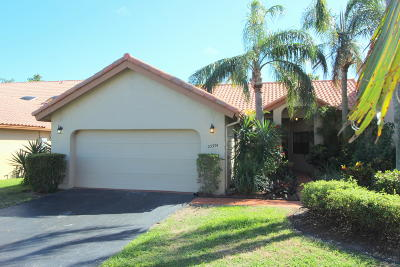 Boca Raton Single Family Home For Sale: 23374 Water Circle