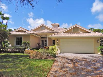 Hobe Sound Single Family Home For Sale: 5909 SE Forest Glade Trail