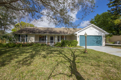 Fort Pierce Single Family Home Contingent: 5613 Paleo Pines