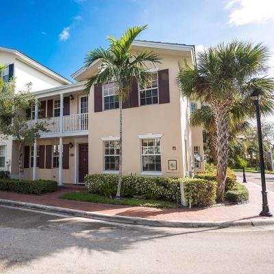 Delray Beach Townhouse For Sale: 1059 W Heritage Club Circle