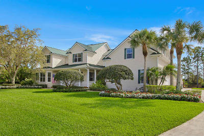 Palm City Single Family Home For Sale: 3986 SW Rivers End Way