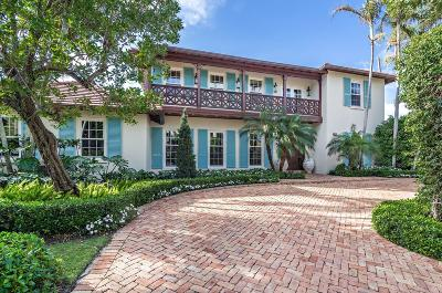 Palm Beach FL Single Family Home For Sale: $5,850,000