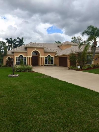 Lake Worth Single Family Home For Sale: 4578 Hunting Trail Trail