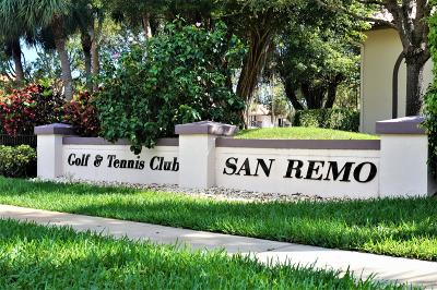 San Remo, San Remo Cond, San Remo Cond Decl In, San Remo Condo, San Remo Golf & Tennis Club, San Remo Golf & Tennis Club Cond, San Remo Golf & Tennis Club Condo Condo For Sale: 5150 E Club Circle #206