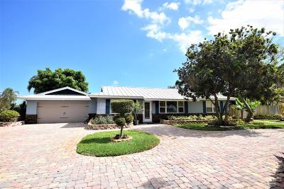 Boynton Beach Single Family Home For Sale: 3614 S Lake Drive