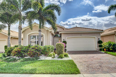 Boynton Beach Single Family Home Contingent: 9634 Edengrove Court