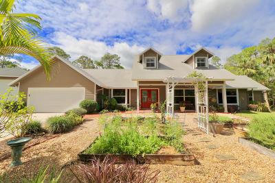 Jupiter Single Family Home Contingent: 18099 Island Oak Avenue