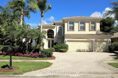 West Palm Beach Single Family Home For Sale: 9024 Lakes Boulevard