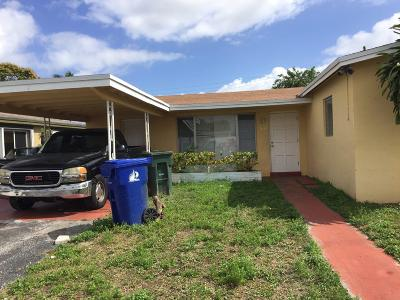 Fort Lauderdale Single Family Home For Sale: 1630 NW 25th Terrace