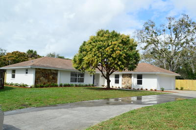 Vero Beach Single Family Home For Sale: 2210 15th Place