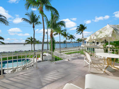 Palm Beach Shores Rental For Rent: 206 Inlet Way #9