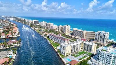 Highland Beach Condo For Sale: 3114 S Ocean Boulevard #806