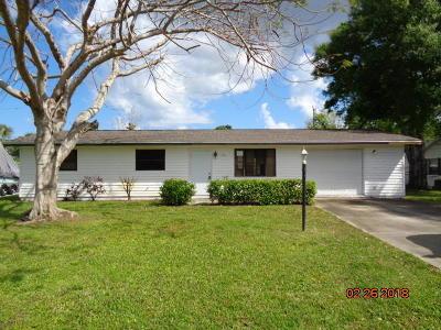 Vero Beach Single Family Home For Sale: 846 18th Avenue
