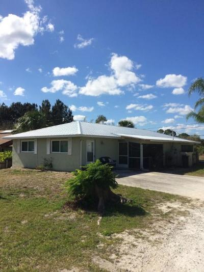 Hobe Sound Multi Family Home For Sale: 8391-8397 SE Pine Circle