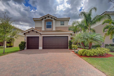 Boynton Beach Single Family Home Contingent: 11485 Mantova Bay Circle