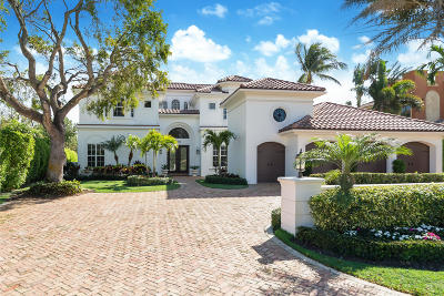 Royal Palm Yacht & Cc, Royal Palm Yacht & Country Club, Royal Palm Yacht And Country Club, Royal Palm Yacht And Country Club Sub In Pb 26 Pgs, Royal Palm Yacht And Country Club Subdivision Single Family Home For Sale: 336 E Alexander Palm Road