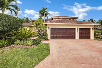 Boynton Beach Single Family Home For Sale: 6695 Conch Court