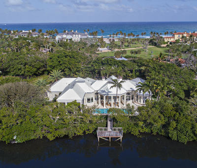 North Palm Beach FL Single Family Home For Sale: $3,900,000