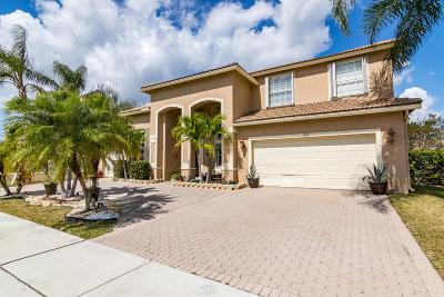 West Palm Beach Single Family Home For Sale: 1532 Stonehaven Estates Drive